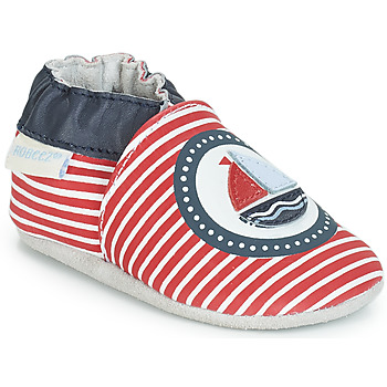 Schuhe Kinder Babyschuhe Robeez MY CAPTAIN Rot / Blau / Weiss