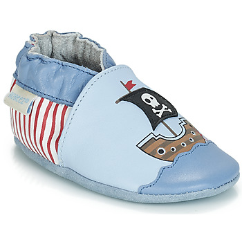 Schuhe Jungen Babyschuhe Robeez PIRATE'S BOAT Blau