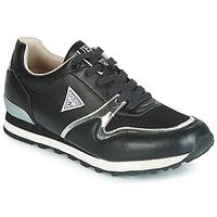 Schuhe Herren Sneaker Low Guess NEW CHARLIE Schwarz