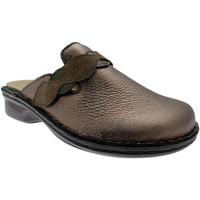 Schuhe Herren Pantoletten / Clogs Calzaturificio Loren LOM2743pi grigio