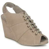 Schuhe Damen Ankle Boots No Name DIVA OPEN TOE Beige