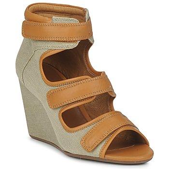 Schuhe Damen Sandalen / Sandaletten No Name DIVA STRAPS Beige