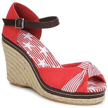 Schuhe Damen Sandalen / Sandaletten StylistClick PATTY Rot