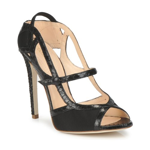 Roberto Cavalli RPS678 Schwarz  Schuhe Sandalen / Sandaletten Damen 519,20