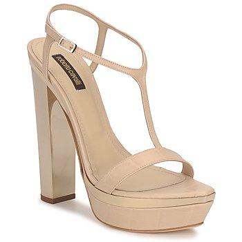 Schuhe Damen Sandalen / Sandaletten Roberto Cavalli RDS735 Beige