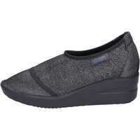Schuhe Damen Slip on Agile By Ruco Line slip on mokassins schwarz textil BT429 schwarz