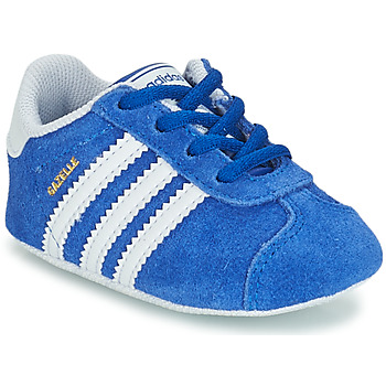 Schuhe Kinder Sneaker Low adidas Originals GAZELLE CRIB Blau