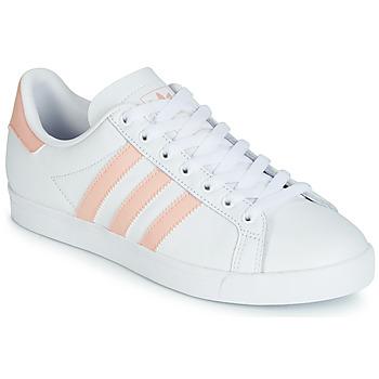 Schuhe Damen Sneaker Low adidas Originals COURSTAR Weiss / Rose