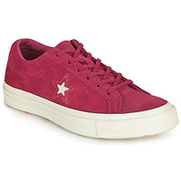 Schuhe Damen Sneaker Low Converse ONE STAR LOVE IN THE DETAILS SUEDE OX Rose