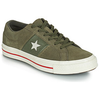 Schuhe Damen Sneaker Low Converse ONE STAR CUIR FASHION BALLER SUEDE OX Kaki