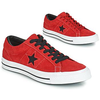 Schuhe Herren Sneaker Low Converse ONE STAR DARK STAR VINTAGE SUEDE OX Rot