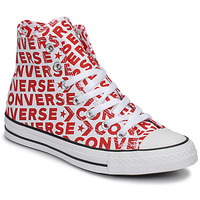 Schuhe Sneaker High Converse CHUCK TAYLOR ALL STAR WORDMARK HI Rot