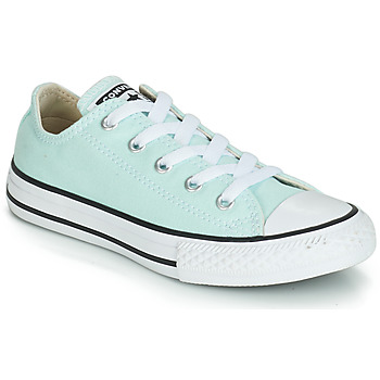 Schuhe Mädchen Sneaker Low Converse CHUCK TAYLOR ALL STAR SEASONAL CANVAS OX Blau