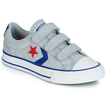 Schuhe Kinder Sneaker Low Converse STAR PLAYER 3V CANVAS OX Grau