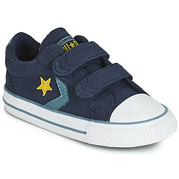 Schuhe Kinder Sneaker Low Converse STAR PLAYER 2V CANVAS OX Blau