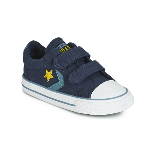 Schuhe Jungen Sneaker Low Converse STAR PLAYER 2V CANVAS OX Blau