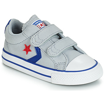 Schuhe Kinder Sneaker Low Converse STAR PLAYER 2V CANVAS OX Grau