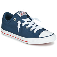 Schuhe Kinder Sneaker Low Converse CHUCK TAYLOR ALL STAR STREET CANVAS OX Blau