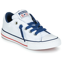 Schuhe Kinder Sneaker Low Converse CHUCK TAYLOR ALL STAR STREET CANVAS OX Weiss