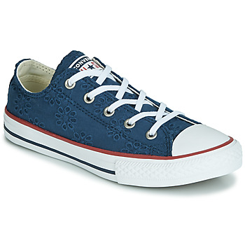 Schuhe Mädchen Sneaker Low Converse CHUCK TAYLOR ALL STAR BROADERIE ANGLIAS OX Marine