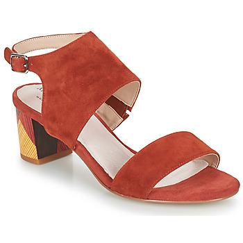 Schuhe Damen Sandalen / Sandaletten Metamorf'Ose EMBARQUA Rot