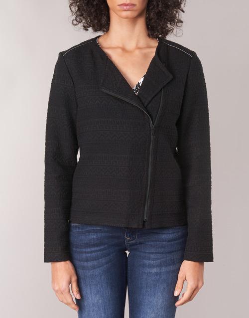 One Step Robi Schwarz - Kostenloser Versand | Kleidung Jacken / Blazers Damen 9450