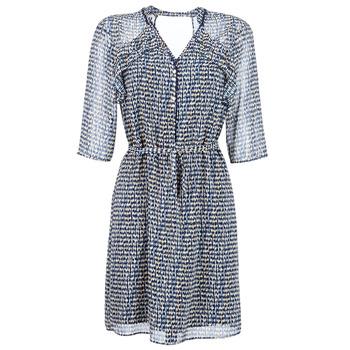 Kleidung Damen Kurze Kleider One Step FLORUS Marine / Multicolor