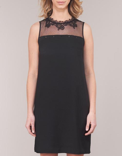 One Step TINA Schwarz - Kostenloser Versand |  - Kleidung Kurze Kleider Damen 12400 S2H5B