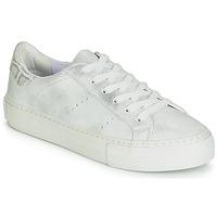 Schuhe Damen Sneaker Low No Name ARCADE Weiss / Silbern