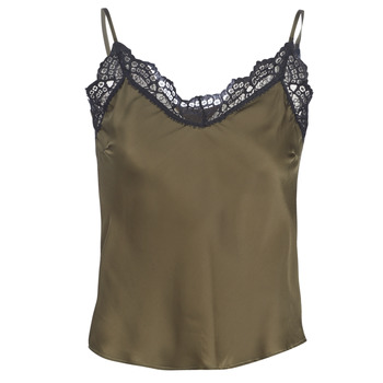 Kleidung Damen Tops / Blusen Ikks BN11105-56 Kaki