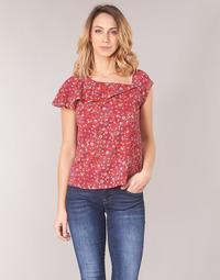 Kleidung Damen Tops / Blusen Ikks BN11345-35 Korallenrot / Multicolor