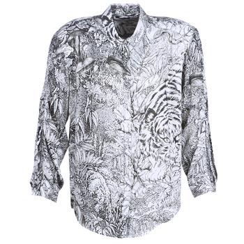Kleidung Damen Hemden Ikks BN12085-11 Weiss / Schwarz