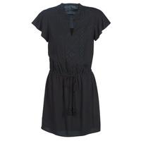 Kleidung Damen Kurze Kleider Ikks BN30035-02 Schwarz