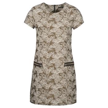 Kleidung Damen Maxikleider Ikks BN30165-65 Kaki / Beige