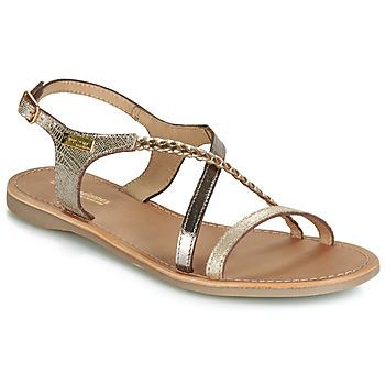 Schuhe Damen Sandalen / Sandaletten Les Tropéziennes par M Belarbi HANANO Gold