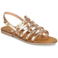 Schuhe Damen Sandalen / Sandaletten Les Tropéziennes par M Belarbi HERILO Gold