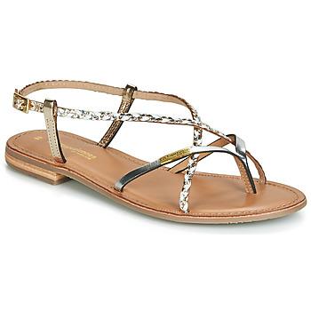 Schuhe Damen Sandalen / Sandaletten Les Tropéziennes par M Belarbi MONATRES Weiss / Gold