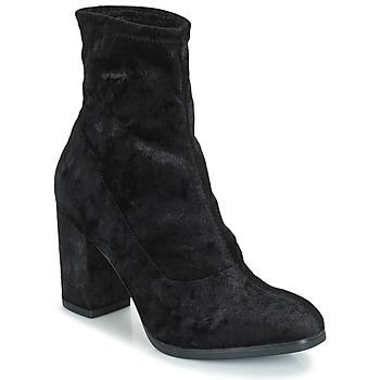 Schuhe Damen Low Boots Caprice  Schwarz / Braun / weiss