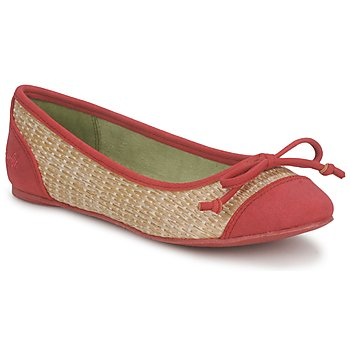 Schuhe Damen Ballerinas Blowfish NITA Rot