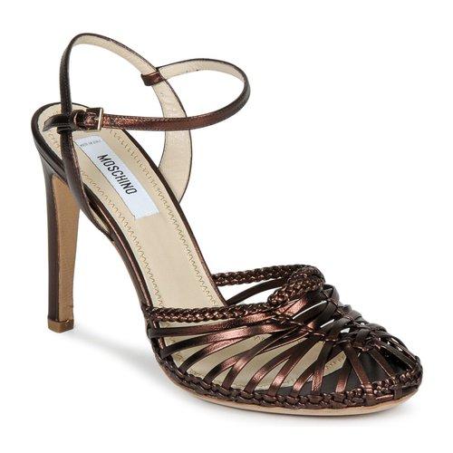 Moschino MA1603 Braun  Schuhe 384,30 Sandalen / Sandaletten Damen 384,30 Schuhe ffad77