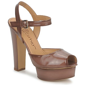 Schuhe Damen Sandalen / Sandaletten Eva Turner ERSILIA Braun