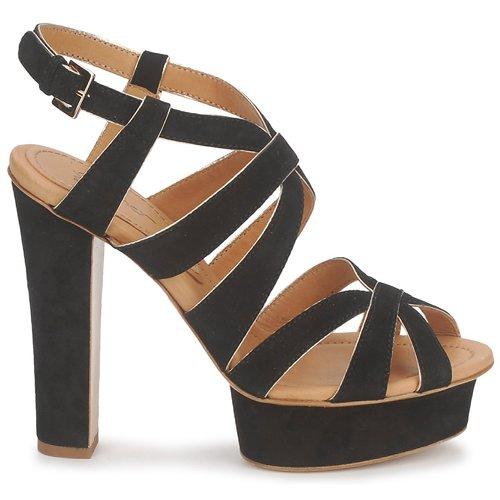 Eva Turner LIVIA Schwarz Schuhe Sandalen / Sandaletten Damen 151,60