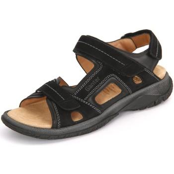 Schuhe Herren Sandalen / Sandaletten Ganter Offene 5-257128-0100 schwarz