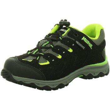 Schuhe Mädchen Wanderschuhe Meindl Bergschuhe 2102 2102 01 schwarz