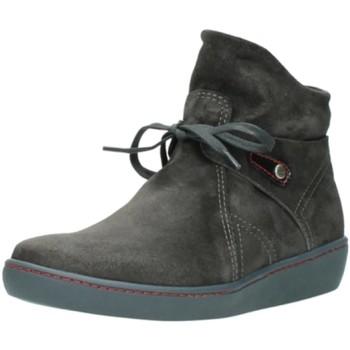 Schuhe Damen Boots Wolky Stiefeletten 8127421 grau