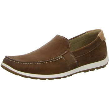 Schuhe Herren Slip on Ecco Slipper Dip Moc 660424.01195 braun