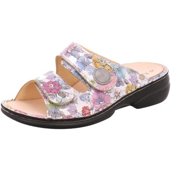Schuhe Damen Pantoffel Finn Comfort Pantoletten Sansibar 2550-613010-sansibar bunt