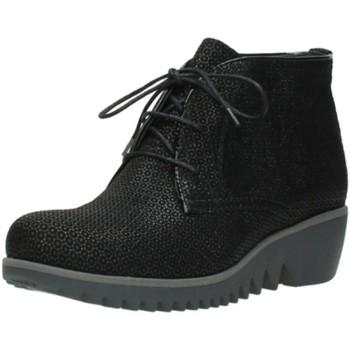 Schuhe Damen Stiefel Wolky Stiefeletten NV 0381890003 - schwarz