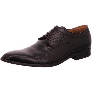 Schuhe Herren Richelieu Digel Business Schnürhalbschuh Business Schwarz Syrakus 1001907-10 schwarz
