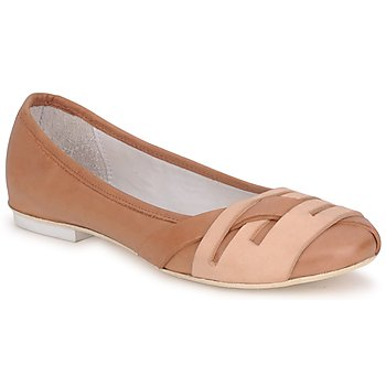 Schuhe Damen Ballerinas Marithé & Francois Girbaud BOOM Cognac